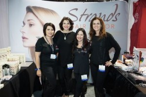 Strands Hair Color at 2014 ISSE Show